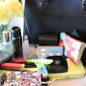 What's in my bag . . .
